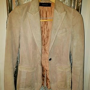 Tom Ford for Gucci needs TLC sz 2 suede jacket